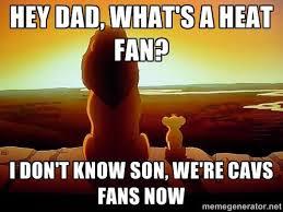 Heat Fans Meme - cleveland cavaliers memes home facebook