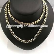 Mens Personalized Necklace Customized 14k Yellow Gold 5mm Herringbone Necklace Mens Chinese