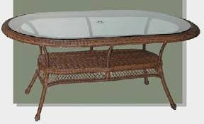 oval patio table wicker patio furniture resin wicker outdoor furniture