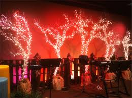 fencing christmas church stage design ideas