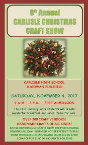 8th annual carlisle christmas craft showrsvpa