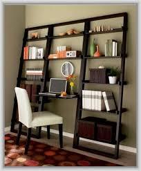 leaning bookcase desk elegant furniture design