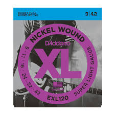 light electric guitar strings d addario exl120 3 sets nickel wound electric guitar strings