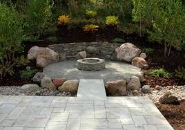 Rustic Firepit Rustic Terrace Cfire Ground One