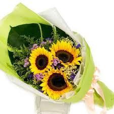 Sunflower Bouquets Florist Singapore Delivering Fresh Flowers Everyday Online