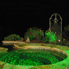 lights outdoor laser shower projector
