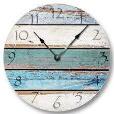 beautiful clocks remarkable ideas beach themed wall clocks life is good at the blue
