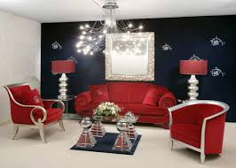 Red Table Lamps For Living Room by Red And Black Living Rooms Lower Rack Round Coffee Table White
