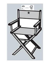 chaise r alisateur décoration chaise de réalisateur deguisement magic