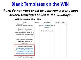 plus1 organization week 7 cornell notes christopherson ppt
