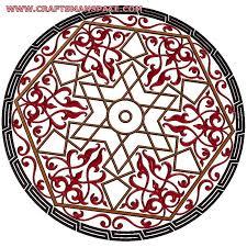 islamic ornament 3d model