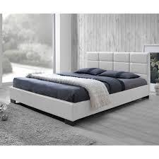 Baxton Studio Platform Bed Baxton Studio Vivaldi Upholstered Platform Bed Hayneedle