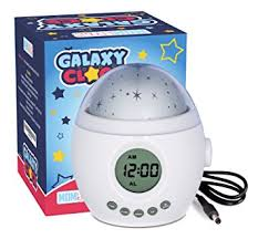 Alarm Clock With Light On Ceiling Galaxy Clock By Momknows Soothing Projector