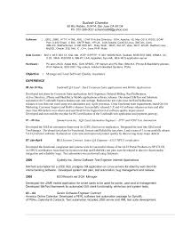 Test Engineer Sample Resume by Download Contract Quality Engineer Sample Resume