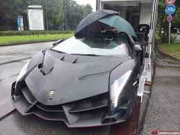 Lamborghini Veneno Black - black lamborghini veneno lp750 4 roadster umbrella top sssupersports