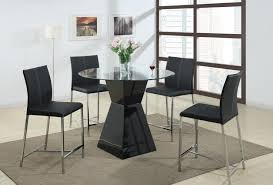 High Dining Room Tables Black Counter Height Dining Room Sets