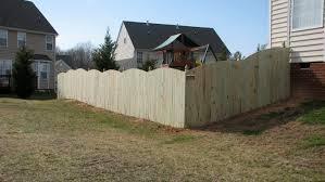 captivating image of backyard fence line landscaping ideas