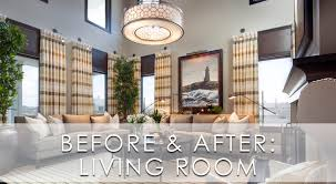 livinf spaces living spaces before and after san diego interior designers