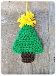 crochet tree ornament make with more of an olive