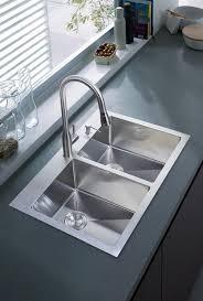 Overmount Kitchen Sinks Dcor Design 33 X 22 Overmount Kitchen Sink Reviews Wayfair
