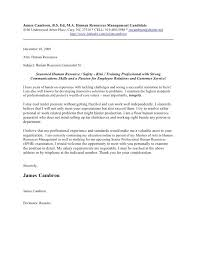 human resources cover letter human resources executive cover
