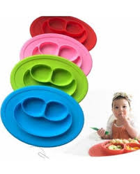 baby plates don t miss this deal 1 smile pattern silicone placemat