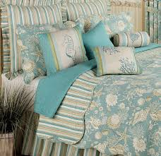 Starfish Comforter Set Beach Blue And Tan Shells Cotton Tropical Comforter Sets U2013 Home