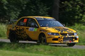 2015 mitsubishi rally car file 2015 rally bohemia schumann mitsubishi lancer evolution