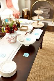 How To Set A Dining Room Table How To Set Up A Buffet On A Dining Table Or Sideboard How To