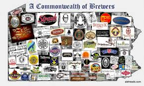 Wisconsin Breweries Map by Pennsylvania A Commonwealth Of Brewers Map Aleheads
