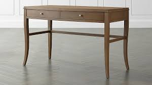 Crate And Barrel Desk by Colette Driftwood Vanity Table Desk Crate And Barrel