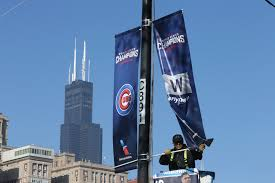 Chicago Cubs Flags Latest City Says 5 Million Attend Chicago Cubs Celebration Wtop