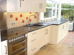kitchens with high gloss floor tiles cream kitchen tiles ideas