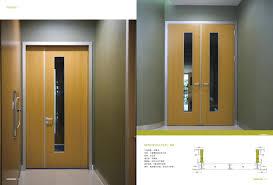 china double door hospital door design for restaurant