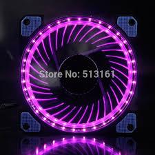 purple led lights for computers 1 piece gdstime eclipse led lights purple yellow 120mm pc computer