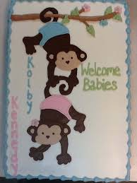 monkey baby shower cake baby showers baby reveal celebrations by sonja