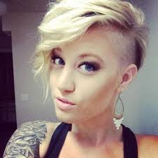 hair styles with both of sides shaved 20 best of short hairstyles with both sides shaved