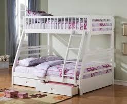 canyon white twin full bunk bed u2013 katy furniture