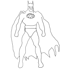 batman drawing pictures kids coloring
