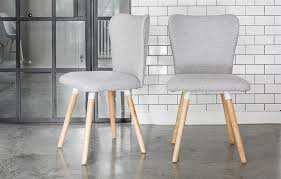 Grey Dining Chairs Grey Dining Chairs Oak Legs Home Furniture Out Out Original
