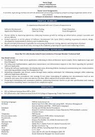 php developer resume template software testing resume format for 1 year experience luxury php