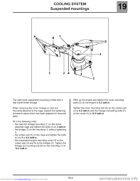 esp renault espace 2000 j66 3 g technical note 3426a workshop manual