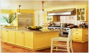 yellow kitchen decor yellow kitchen cabinet ideas french country