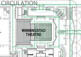 Hatfield House Floor Plan by Antoine Hatfield Hall Dolores Winngstad Theater Abq Warehouse