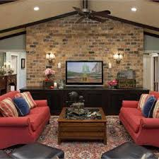 CountryRustic Country Casual Living  Family Room Photos - Country family rooms