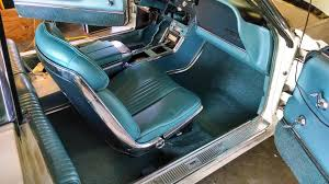 1961 Thunderbird Interior Red Interior Repaint What Modern Paint Matches Factory