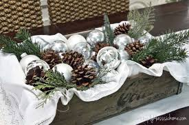 rustic christmas table centerpieces rustic glam christmas rustic