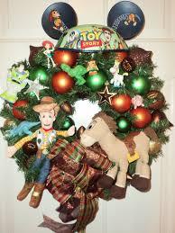 toy story wreath home decor christmas by viennasparklewreaths via