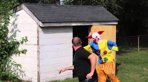 backyard clown scare youtube