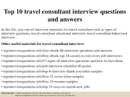 travel agent jobs images Top10travelconsultantinterview jpg